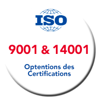 Lagache Mobility Pastille Normes ISO 9001 & 14001