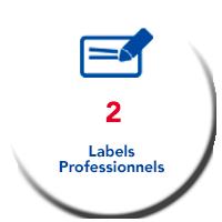 Lagache Mobility Pastille 2 Labels Professionnels