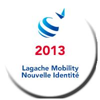 Lagache Mobility Pastille 2013 Nouvelle identité visuelle