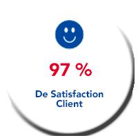Lagache Mobility Pastille 97% de satisfaction clien